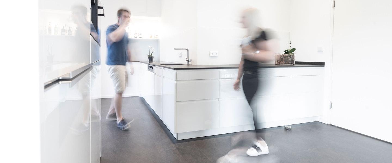 Die Kumpels in unserer Küche