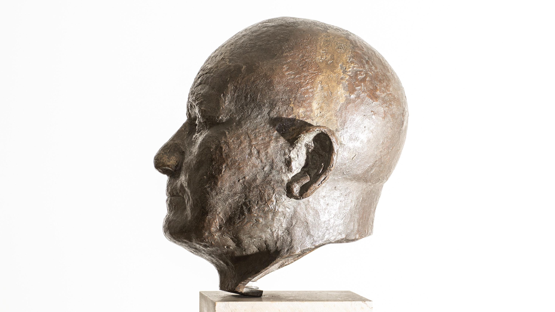 Adalbert Raps Büste (Statue)