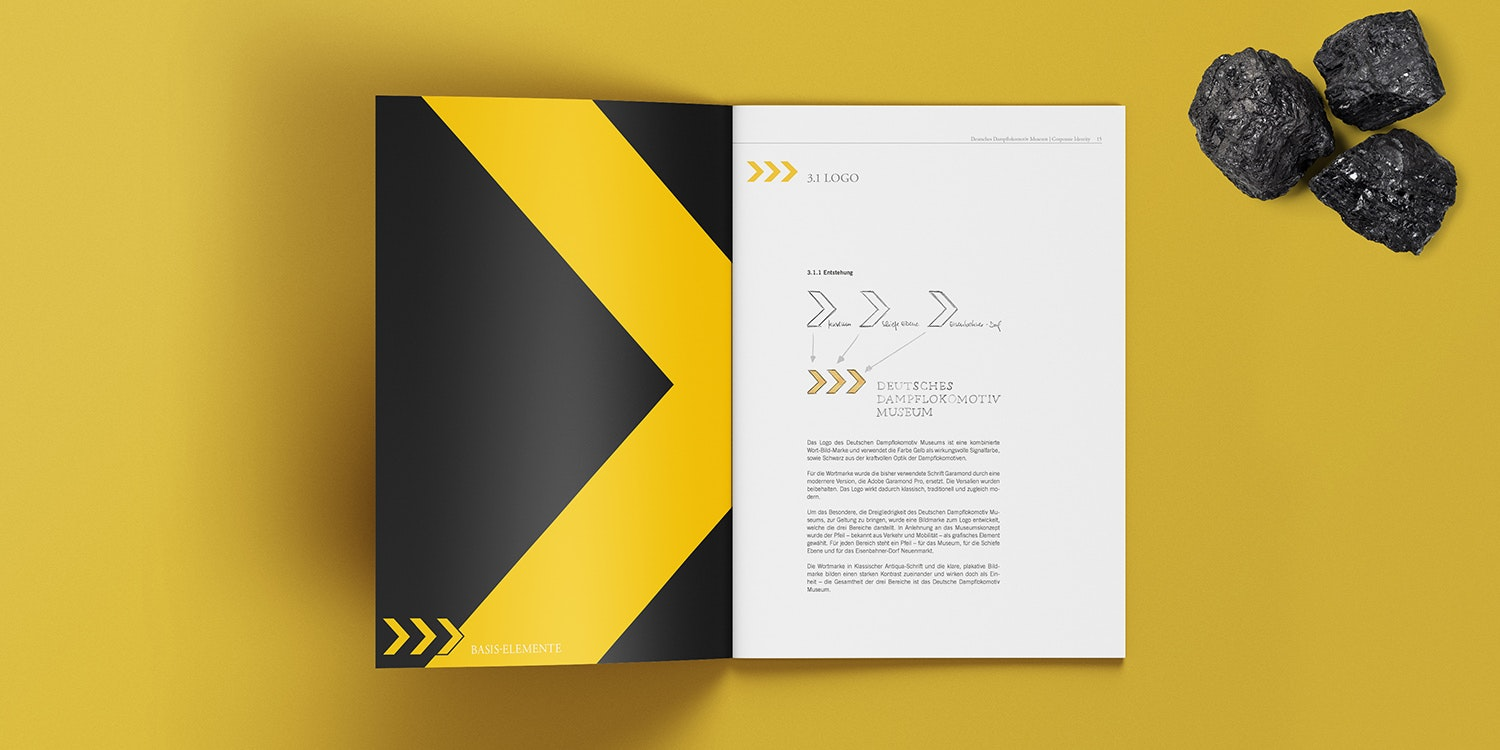Mockup DDM Corporate Design Manual