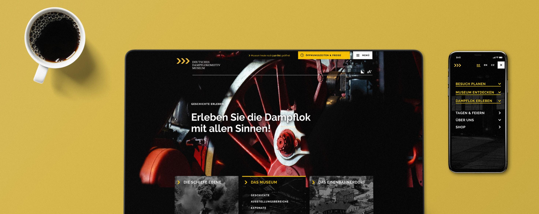 Titelbild Mockup DDM Website