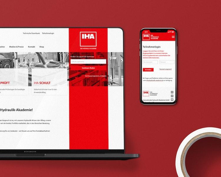 Vorschaubild Markenentwicklung IHA – Die Hydraulik Akademie