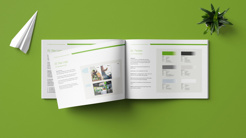 Mockup NOVELAN Brandbook