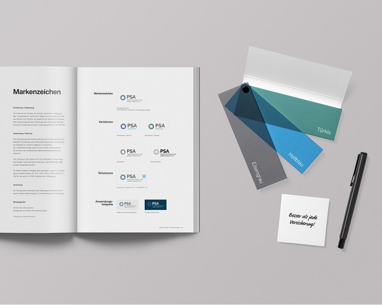 Vorschaubild PSA Profi Corporate Design Buch