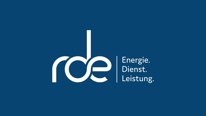 Mockup rde Logo