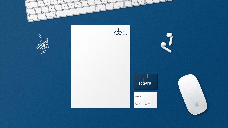 Titelbild RDE Dienstleistungen Geschäftsausstattung
