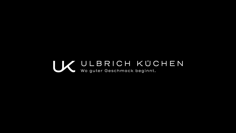 Ulbrich Küchen Logo Schwarz Weiß